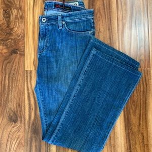 Adriano Goldschmied Angel bootcut jeans med wash